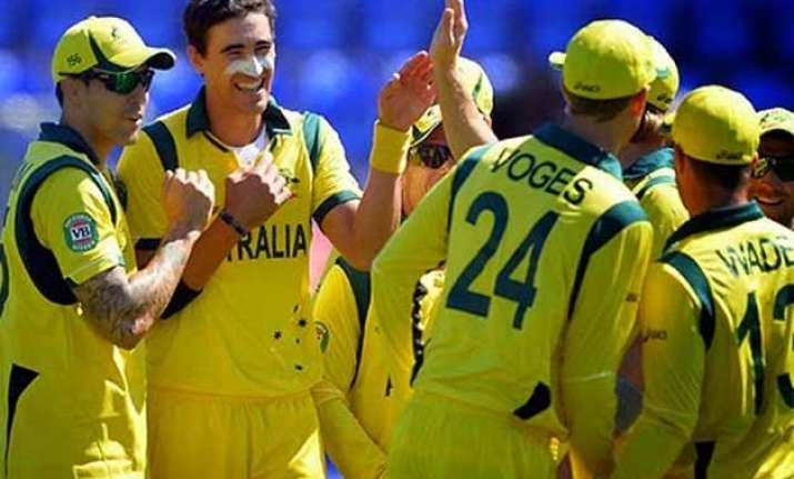 world cup 2015 australia cuts watson afghanistan wins toss