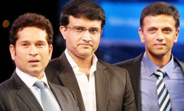tendulkar dravid ganguly to find indian cricket team s new