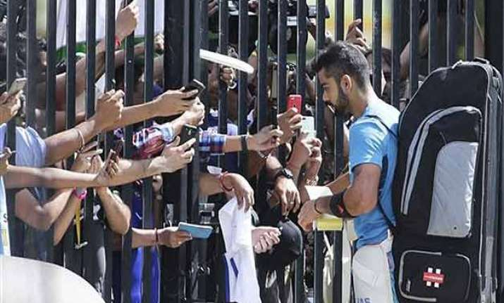 icc world cup 2015 india snub supporters at scg