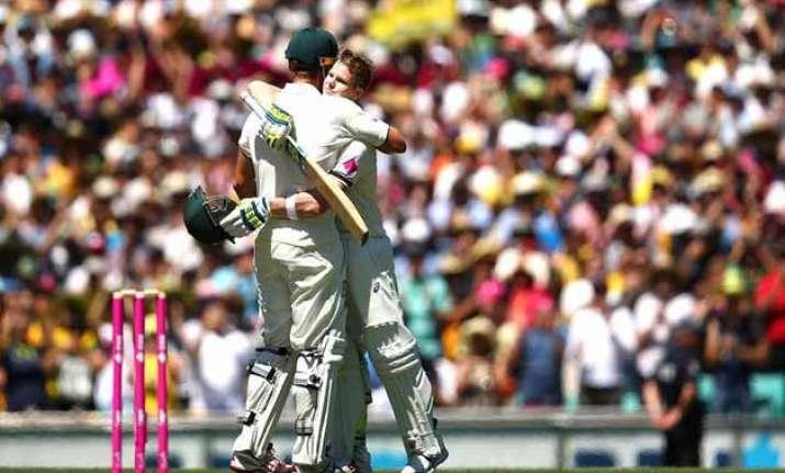 aus vs ind smith century pushes australia past 400 against