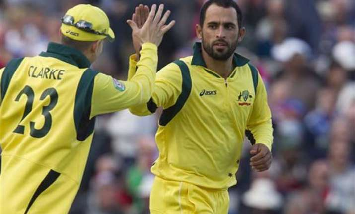 pakistan born fawad ahmed named in australian test squad