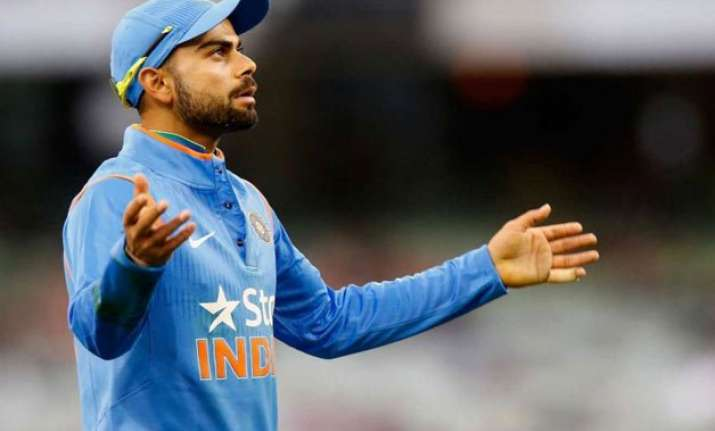 world cup 2015 virat kohli abuses journalist ravi shastri