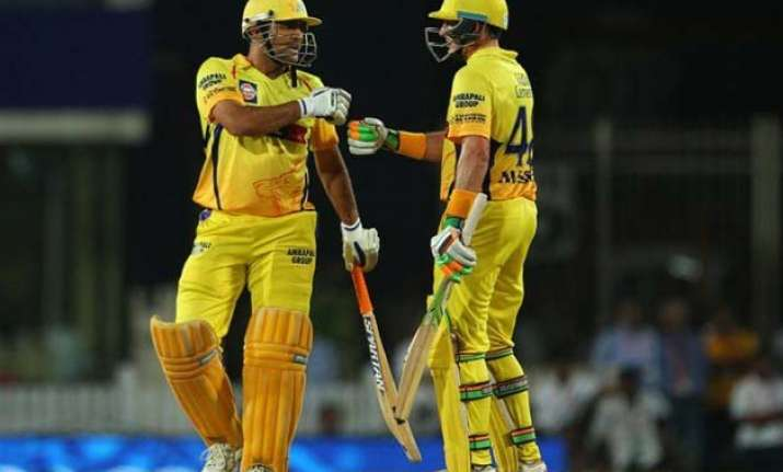 ipl 8 csk beat rcb by 3 wickets enter record 6th final