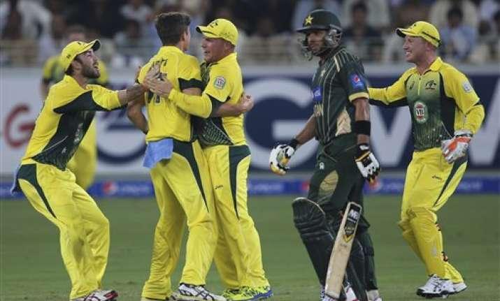 pak vs aus maxwell powers australia to 5 wicket win