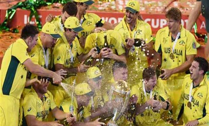 bleary eyed australians celebrate world cup win