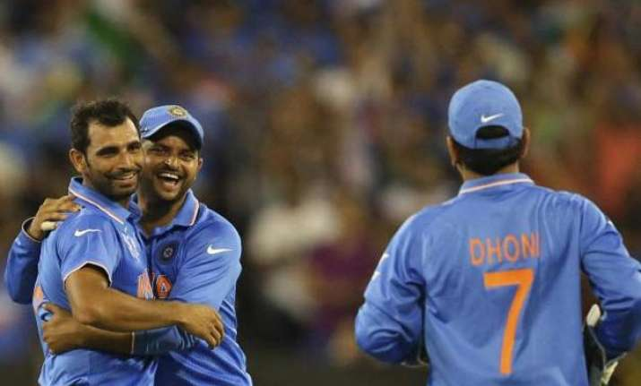 like the way dhoni handles me as a bowler shami