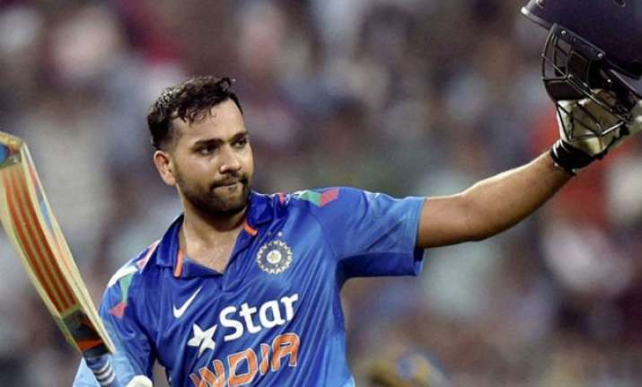 rohit sharma jumps to career best 5th spot in icc odi