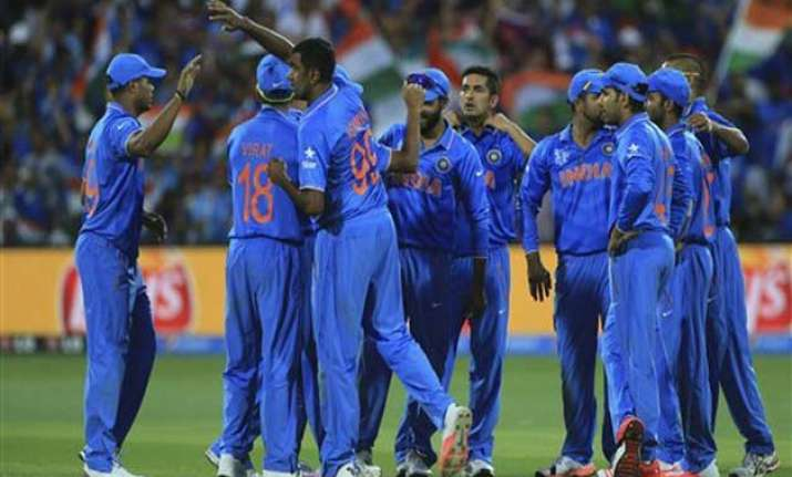 world cup 2015 upbeat india looks for first win over south