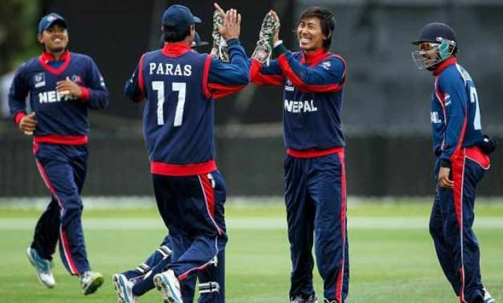 nepal seeks indian support for development of cricket
