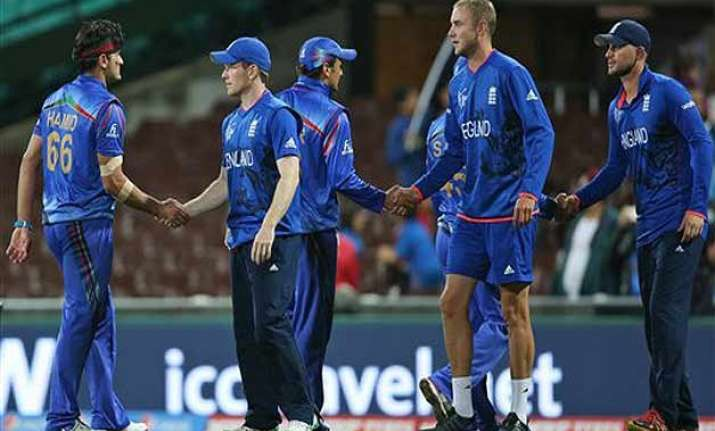 world cup 2015 england beats afghanistan by 9 wickets