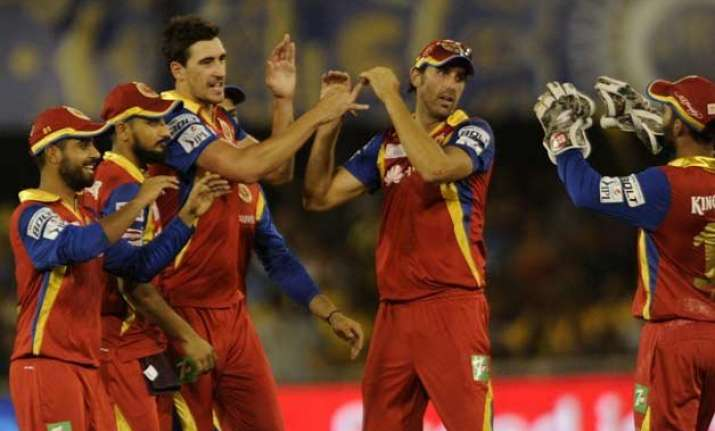 ipl 8 rcb bowlers restrict rajasthan to 130 9