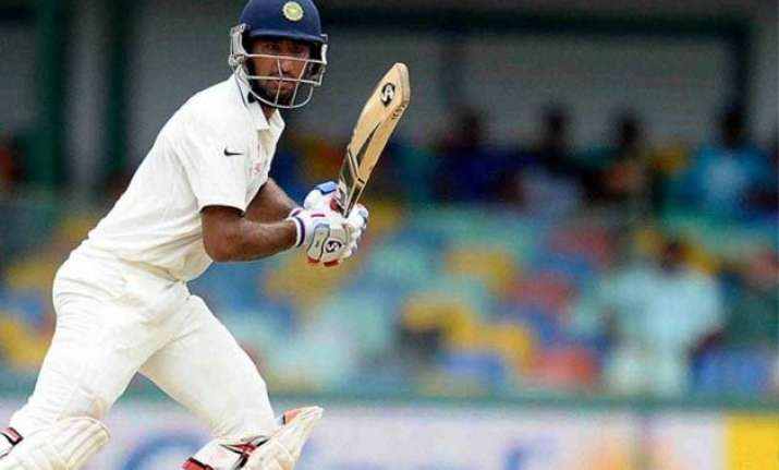 3rd test day 2 india reaches 119/4 against sri lanka at