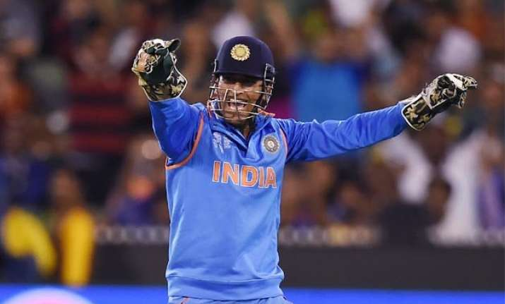 world cup 2015 dhoni s brave captaincy key to india success