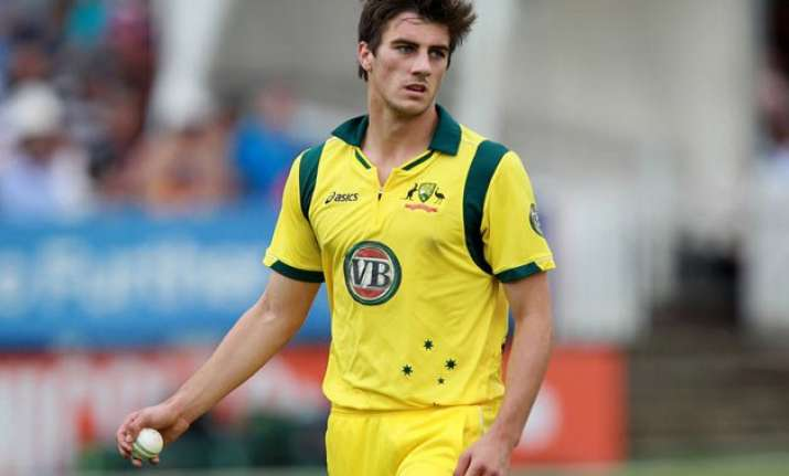 world cup 2015 cummins replaces doherty in australia squad