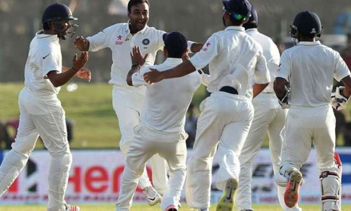 india beat sri lanka by 278 run in 2nd test level series 1 1