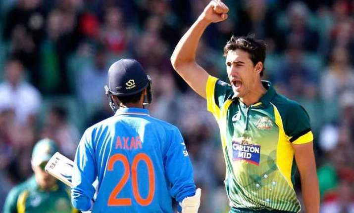 tri series 2015 pacer starc enjoying lead role in johnson s