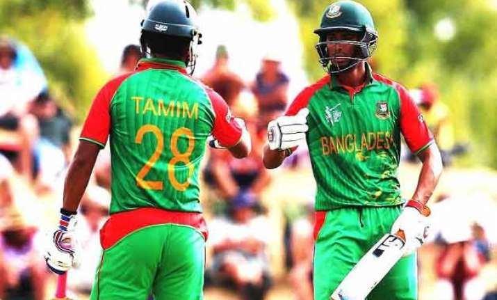 world cup 2015 bangladesh beats scotland by 6 wickets