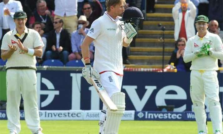 joe root ton lifts england to 343 7 on 1st day of 1st ashes