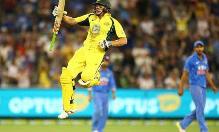 3rd odi australia beat india by 3 wickets