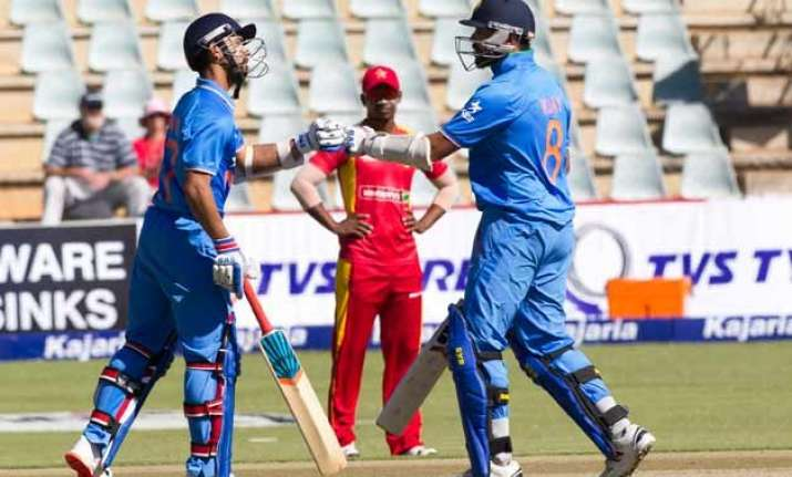india set a target of 179 runs for zimbabwe in first t20i