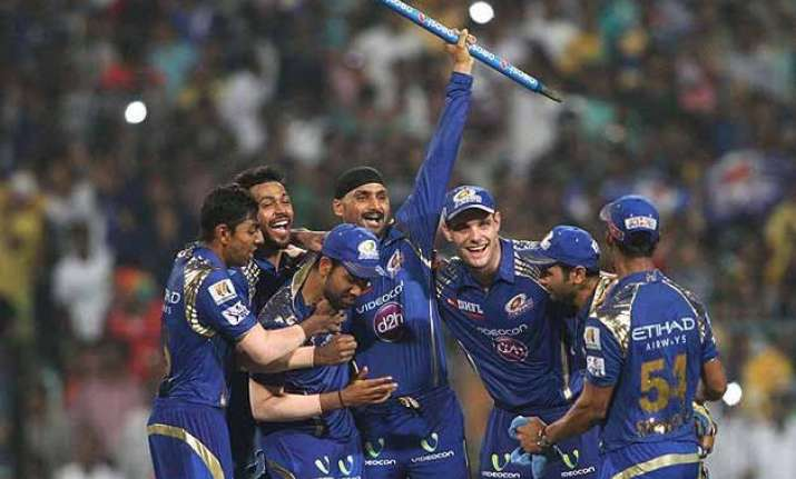 ipl 8 final brilliant mumbai indians capture 2nd ipl title