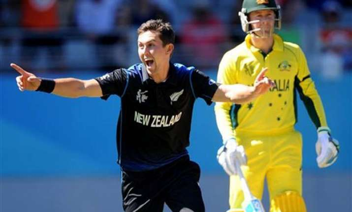 world cup 2015 boult takes a fifer nz bowls out australia