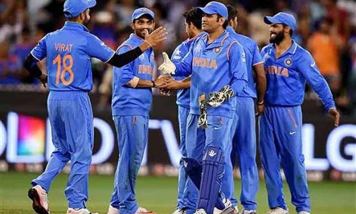 world cup 2015 pm modi congratulates indian team for
