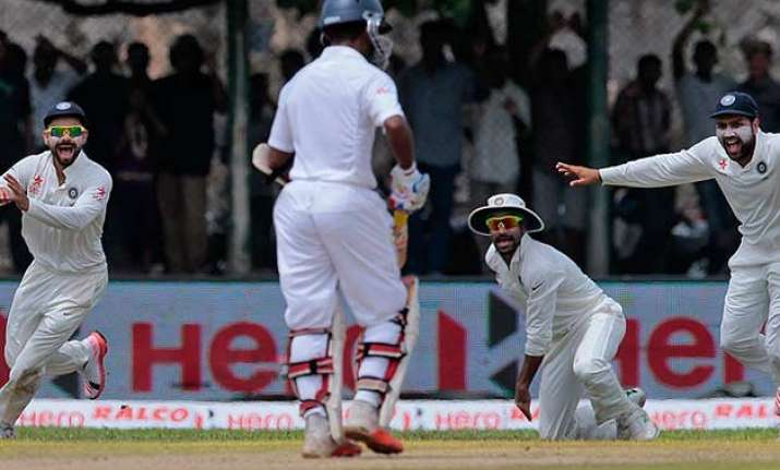 galle test day 3 india sniff victory after sri lanka set a