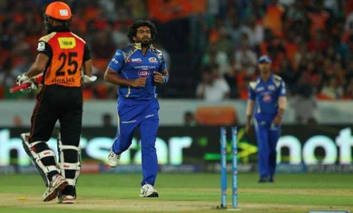 ipl 8 clinical mumbai bowl out sunrisers for 113