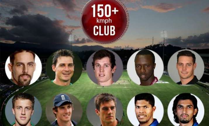world cup top ten bowlers who clock 150 kmph