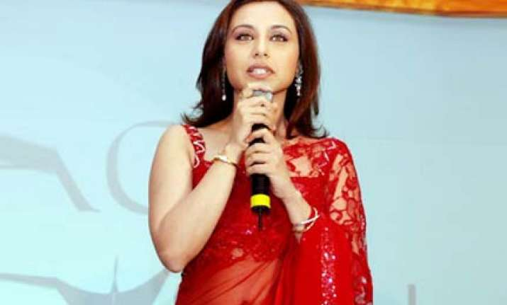 cricket is not just for men says rani mukherjee