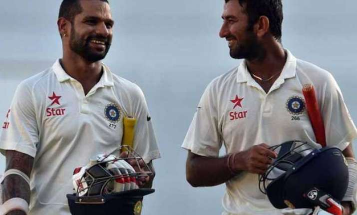 dhawan pujara expected to be axed for fourth test
