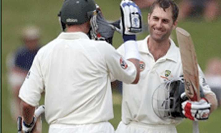 with katich ton aussies get 300 plus lead over nz