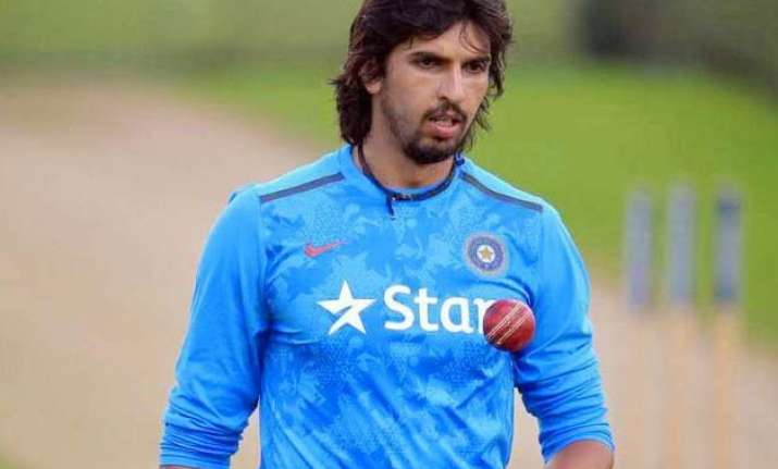 blow for indian team as ishant down with hamstring injury