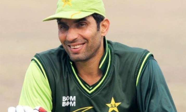 world cup is the ultimate goal says misbah