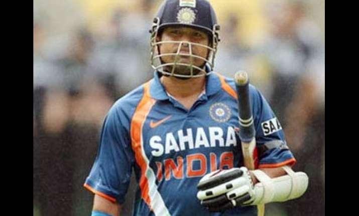 sachin s idea ignored by india