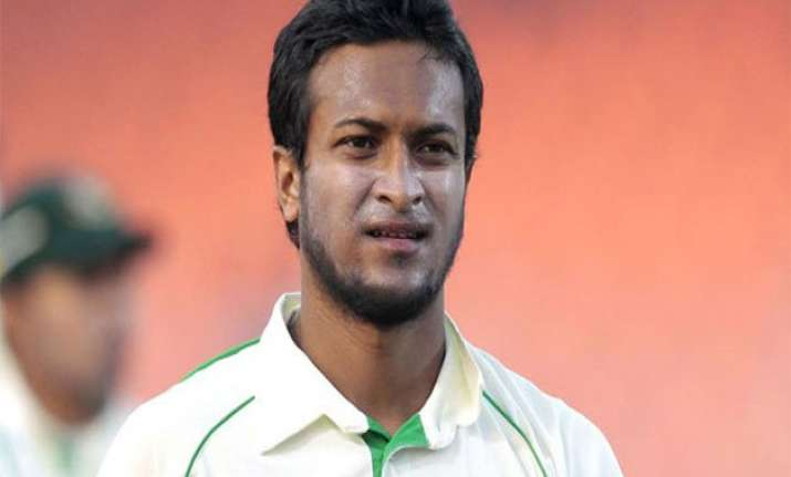 bangladesh pin hopes on shakib in second test against