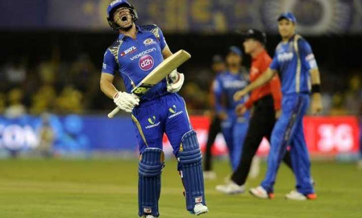 mumbai s aaron finch set to be ruled out of ipl 2015