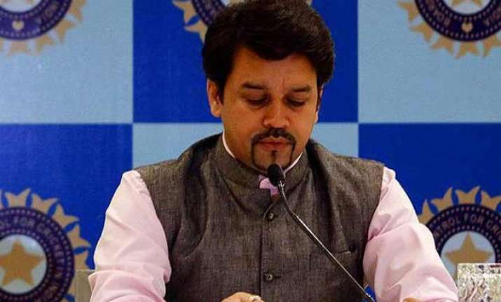 no cricket ties with pakistan as of now anurag thakur