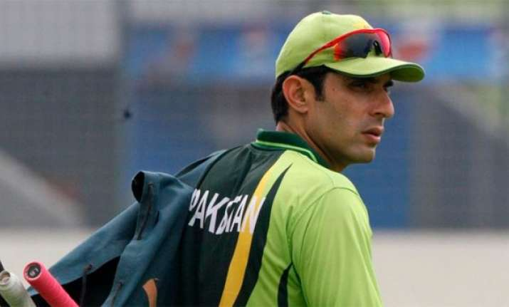 misbah ul haq to retire from odis after world cup