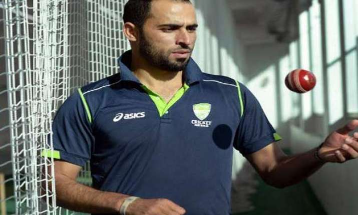 australian spinner fawad ahmed wants to show muslims in