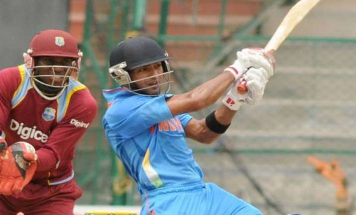 unmukt mishra shine as india a crush wi in warm up opener