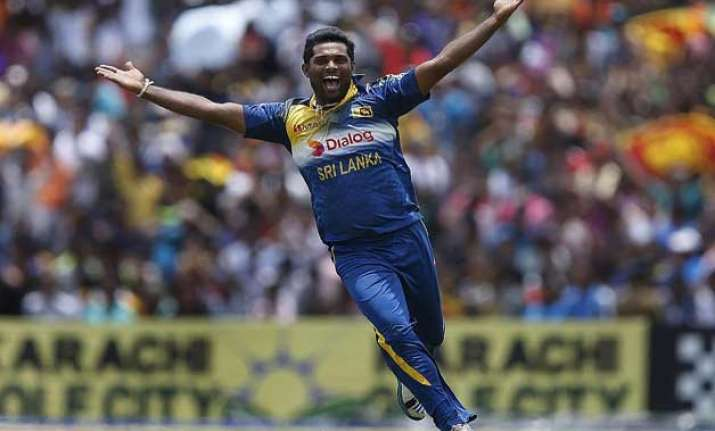 world cup 2015 seekkuge prasanna joins sri lanka squad