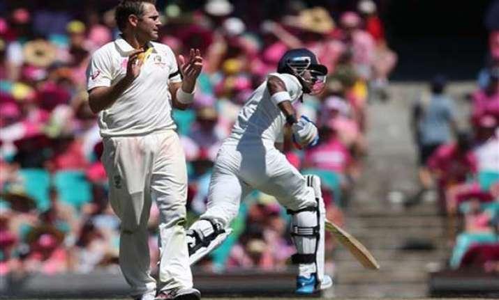 australia vs india scoreboard fourth test at end of play