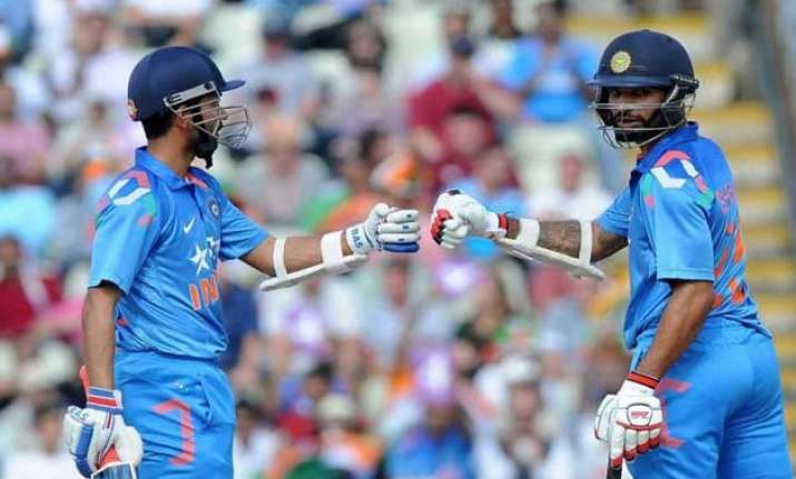 tri series 2015 india wins toss bats in 2nd odi vs australia