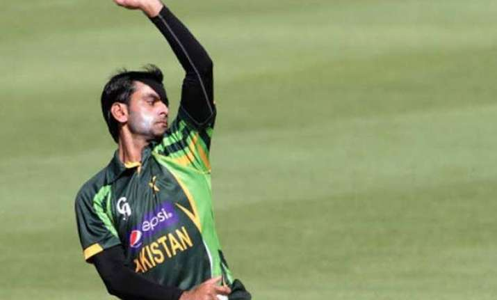 hafeez to undergo bowling test before world cup