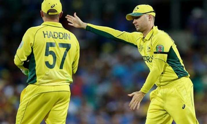 clarke s aussies prepared for their part in world cup final
