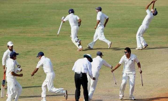 ranji trophy rajasthan run through odisha for bonus point
