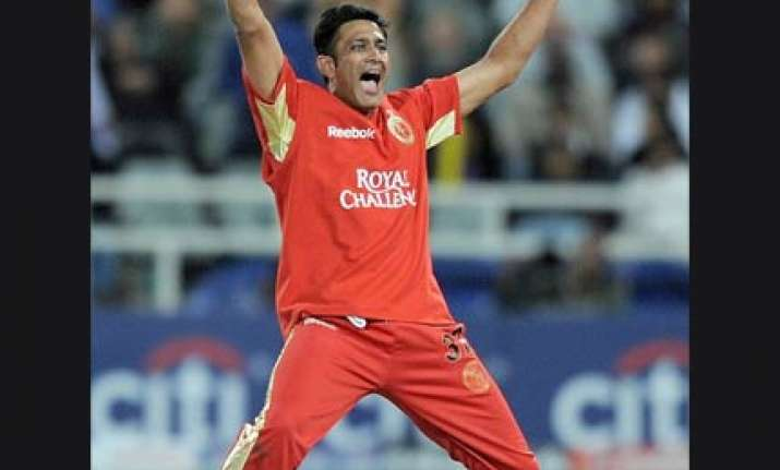 crucial match against mumbai indians kumble