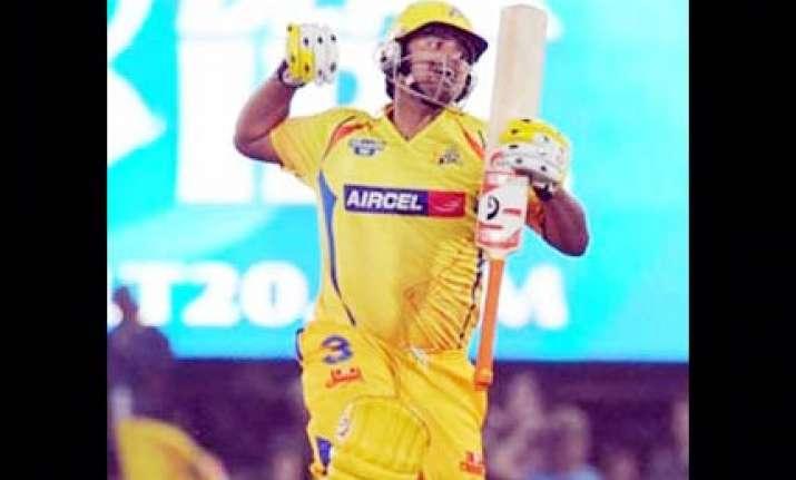 vijay raina script chennai s victory over bangalore